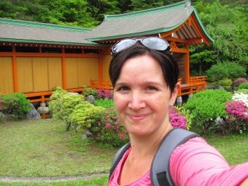 Me in Gokanosho, Kyushu - Japan