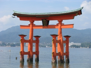 Itsukushima Shrine and its famous gate