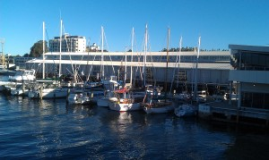 The waterfront, Hobart