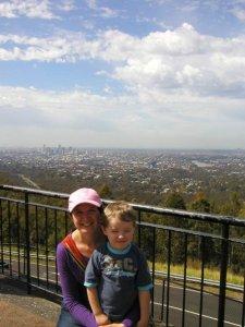 Brisbane behind