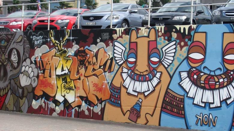 Mural, Bondi, Sydney