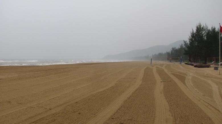 The beach at Lang Co