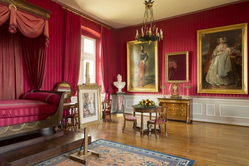 Королевский дворец - Опочивальня герцогов Орлеанских Château d'Amboise (Замок Амбуаз) - замки Луары, Франция