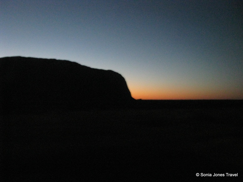 Uluru - in the darkness