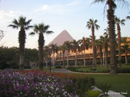View from Mena House, Giza