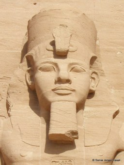 """Ramesses II - AKA """"Ramesses the Great"""" - standing guard at the Great Temple, Abu Simbel"""
