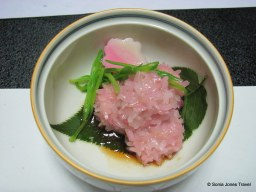 Sticky rice, inspired by sakura