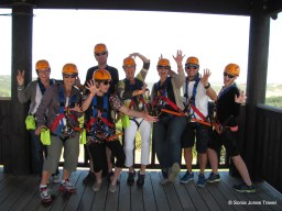 Our group - ready to zip!