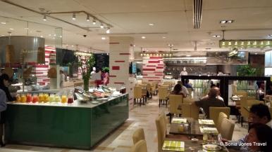 The amazing buffet at Shangri-La Hotel, Kuala Lumpur