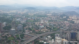 Kuala Lumpur from Petronas