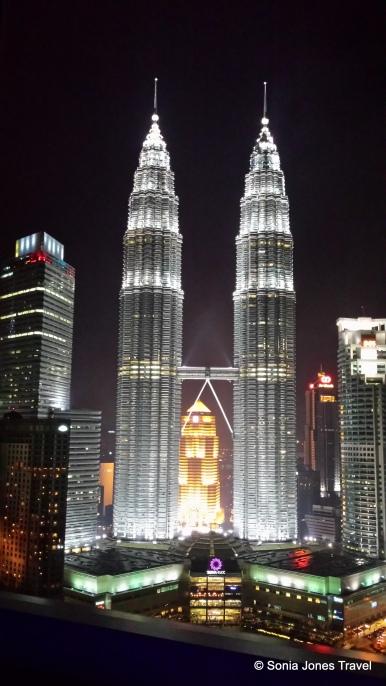 Petronas Twin Towers by Night, Kuala Lumpur
