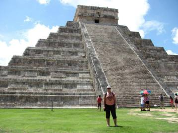 Me at Chichen Itza - Mexico