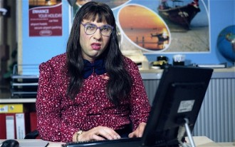 """Compu'er says no..."" - Carol Beer (David Walliams)"