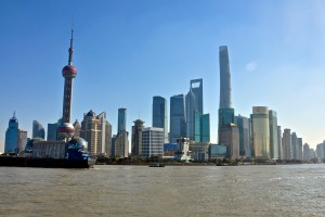 Shanghai Skyline. Picture from wikipedia