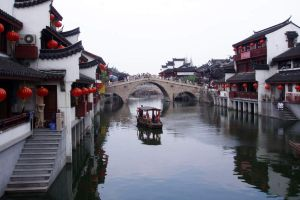 Zhujiajiao - Shanghai's Venice. Photo by galleryhip.com