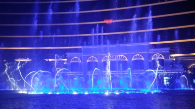 Fountain show, Wynn Macau