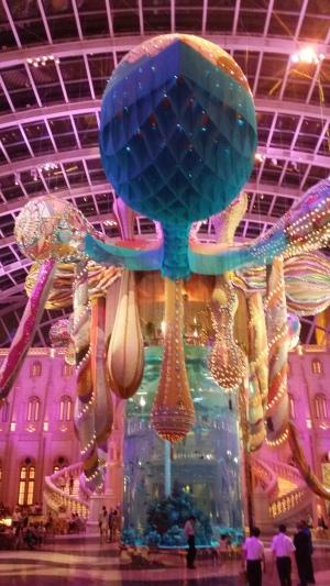 Octopus installation, MGM Macau