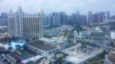 Macau's casinos in Cotai