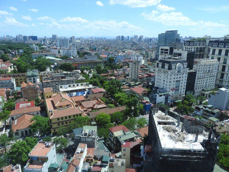 View Across Hanoi