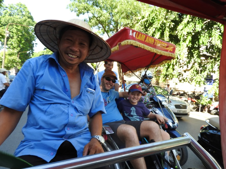 Our driver Tuan