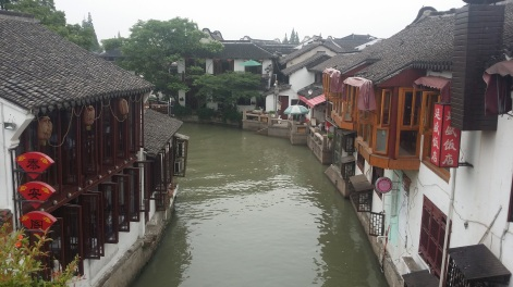 The waterways of Zhujiajiao