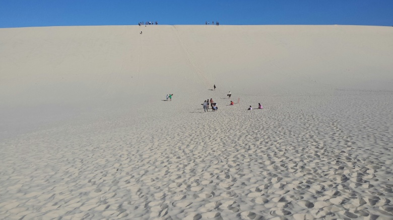 Fancy sand-tobogganing?