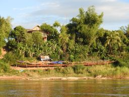 On the banks of the Mekong