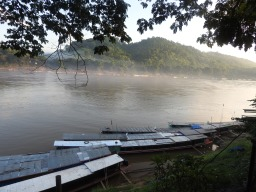 The Mekong from Luang Prabang - taken in the early morning
