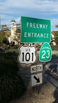 Californian Road Signs