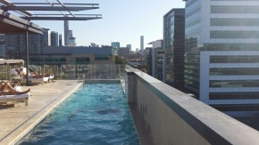 The Rooftop Pool, Emporium Hotel
