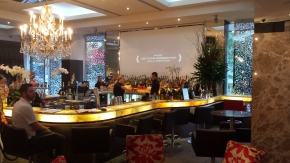 Lovely bar at Emporium Hotel