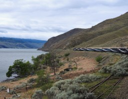 Outside of Kamloops enroute to Vancouver