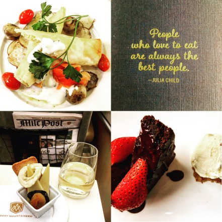 Culinary Delights onboard