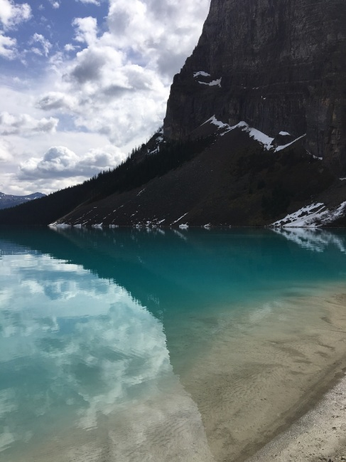 The colours of Lake Louise