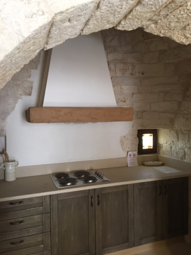 Kitchen in our trullo