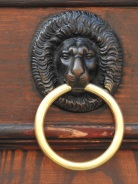 Looking for Lions... a door knocker
