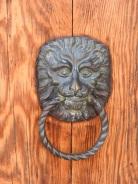 Looking for Lions... another door knocker