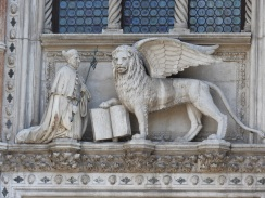 Looking for Lions... the lion represents St Mark