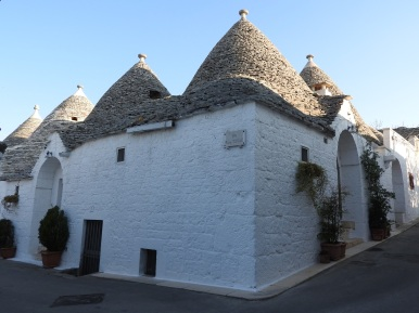 Typical trulli houses